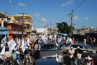 PRD demuestra fortaleza en el Distrito Nacional con majestuosa caravana