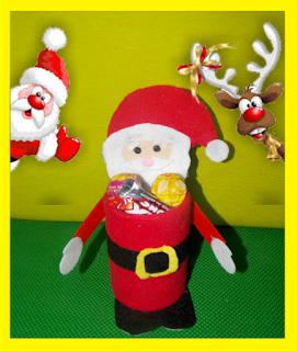 Papá Noel reciclado