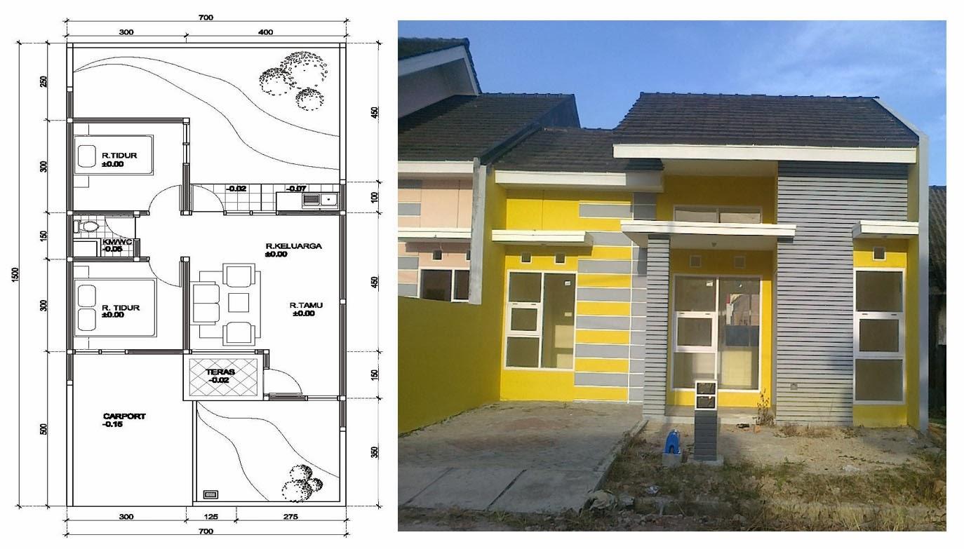 Desain Rumah Minimalis Type 36 Simpel Namun Indah Panduan Desain