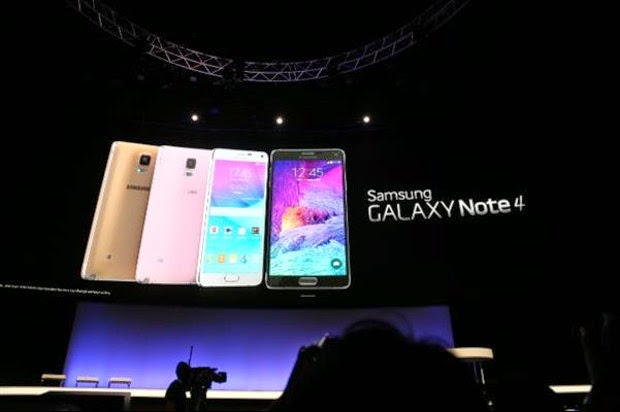 Samsung lancarkan Galaxy NOTE 4