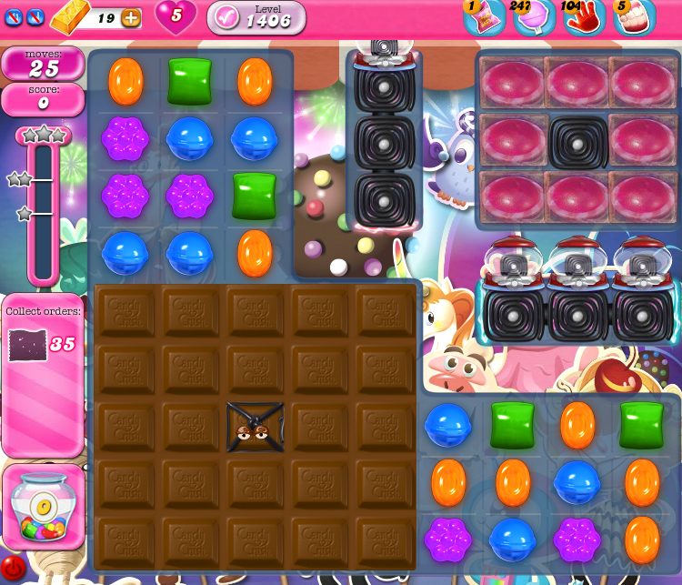 Candy Crush Saga 1406