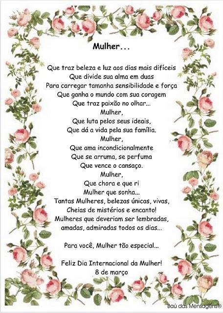 27 Frases DIA DA MULHER 8 de março | Dia Internacional da