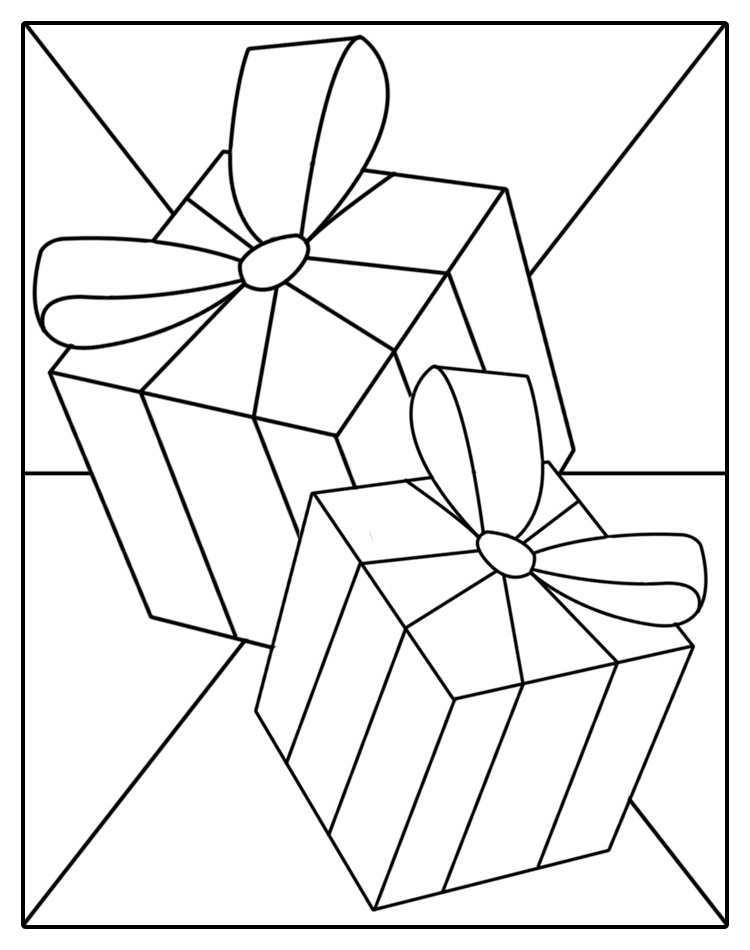 Transformative image regarding printable stained glass patterns