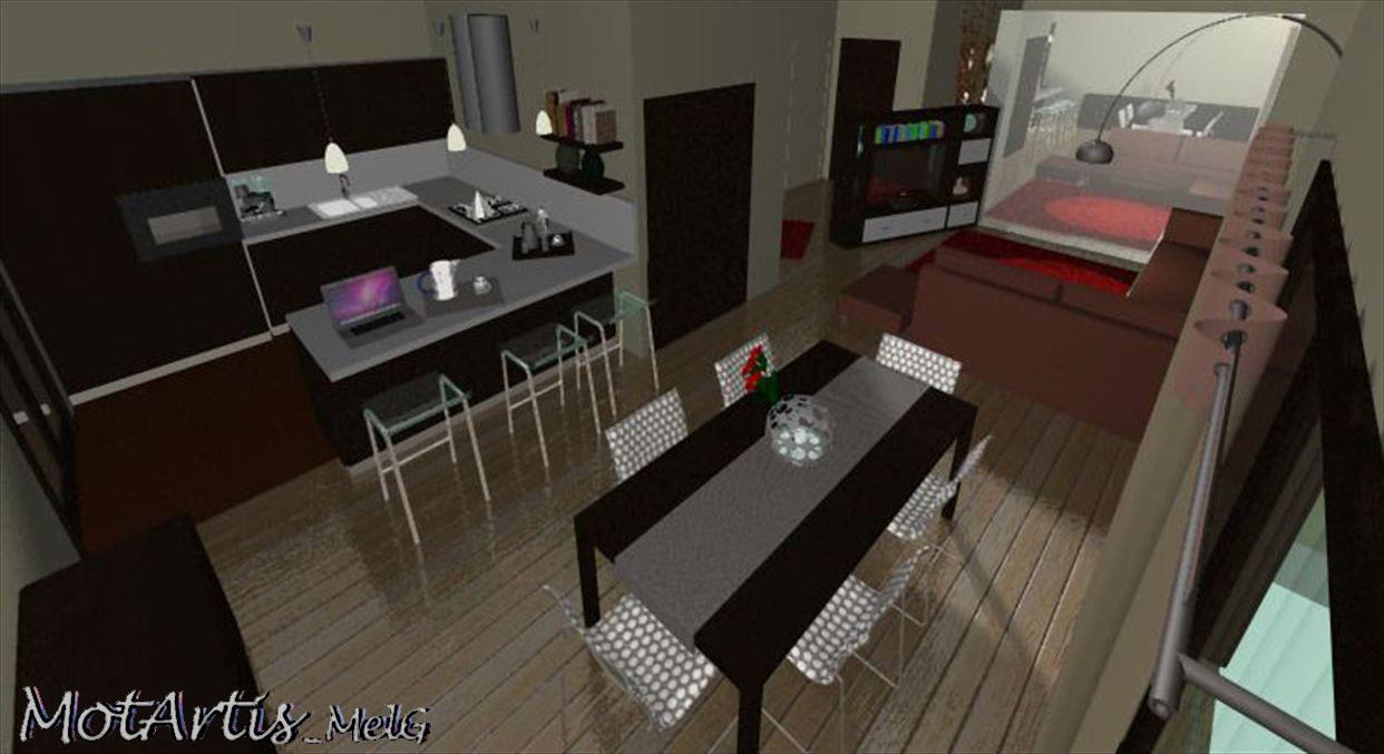 Motartis mettila come vuoi mettila dove vuoi sia tv - Divano in cucina ...