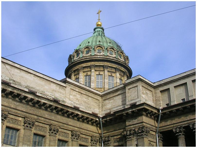 Санкт-Петербург Казанский собор улица