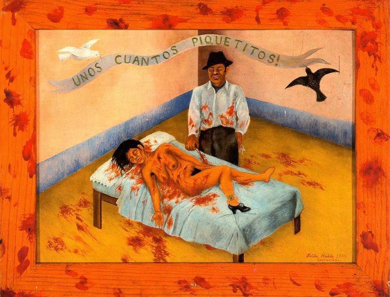 Unos cuantos piquetitos | Galería Frida Kahlo