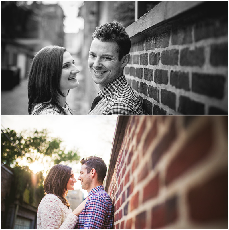 Chicago Lincoln Park Engagement Photo