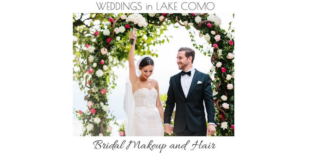 Weddings in Lake Como - Bridal Makeup and Hair