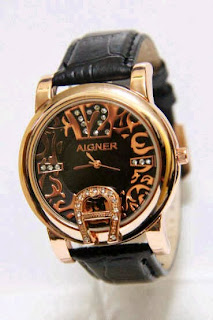Jam Tangan Aigner Bari Batik Leather