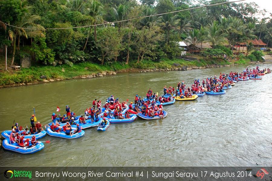 Rafting Arung Jeram Sungai Serayu Banjarnegara