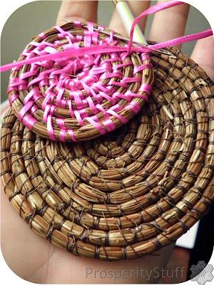 Pine Needle Coaster