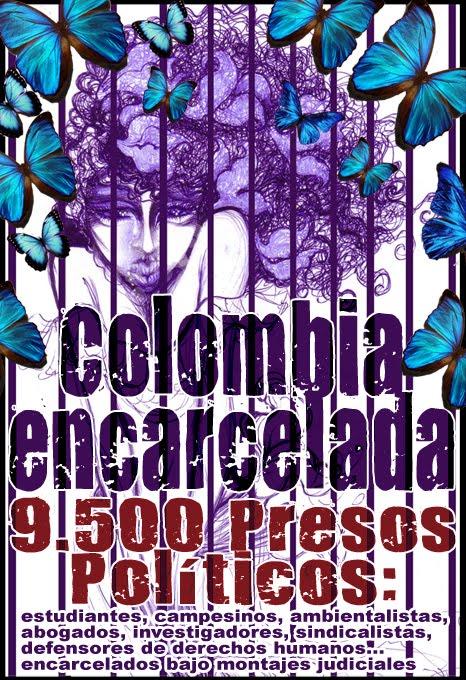 Libertad a los 9.500 presos políticos en Colombia
