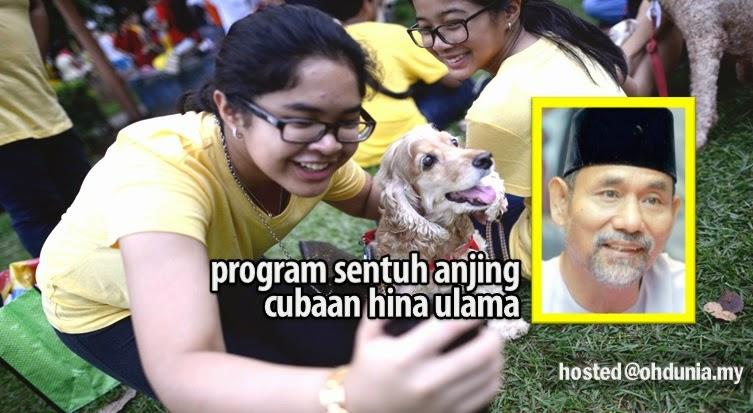 Program Sentuh Anjing Cubaan Hina Ulama, Kata Bekas Mufti Johor