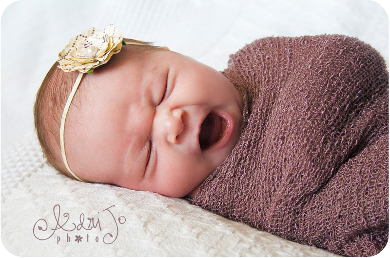 Miss Alice Ann - Boise Newborn Photographer