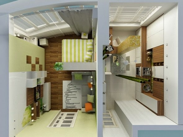 Affordable Apartment and Home Space Saving Designs: Indonesia ...
