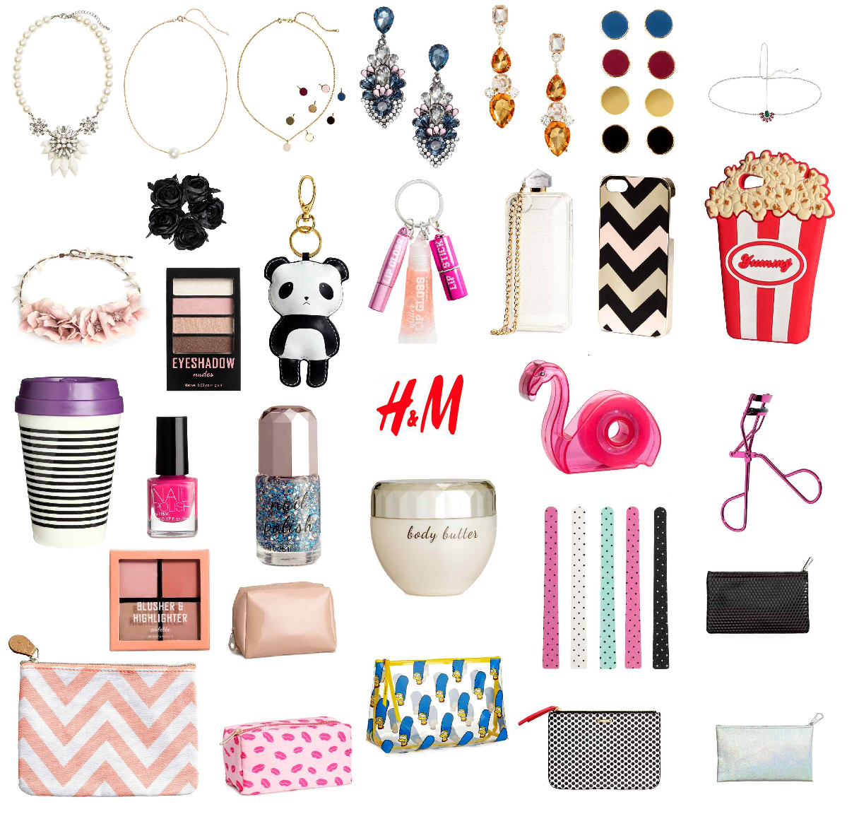 wishlist accessori hm