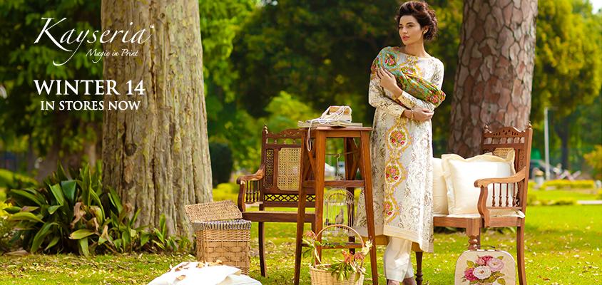 Elegant Kayseria Winter Dress 2014-15