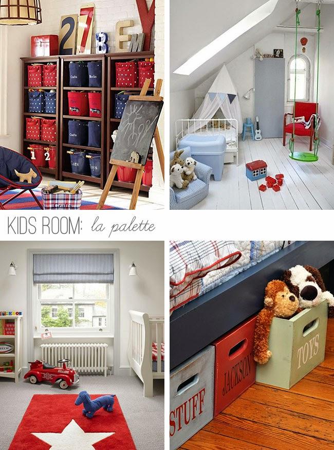 La nuova cameretta la palette e le idee d 39 arredo home shabby home arredamento interior craft - Arredare cameretta 9 mq ...