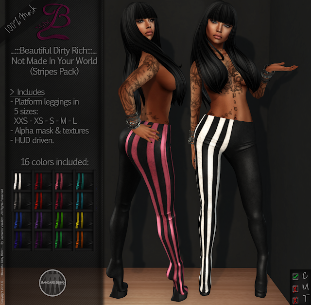 https://marketplace.secondlife.com/p/BDR-Not-Made-In-Your-World-Stripes-Pack-50-OFF-for-1-Week/5497958