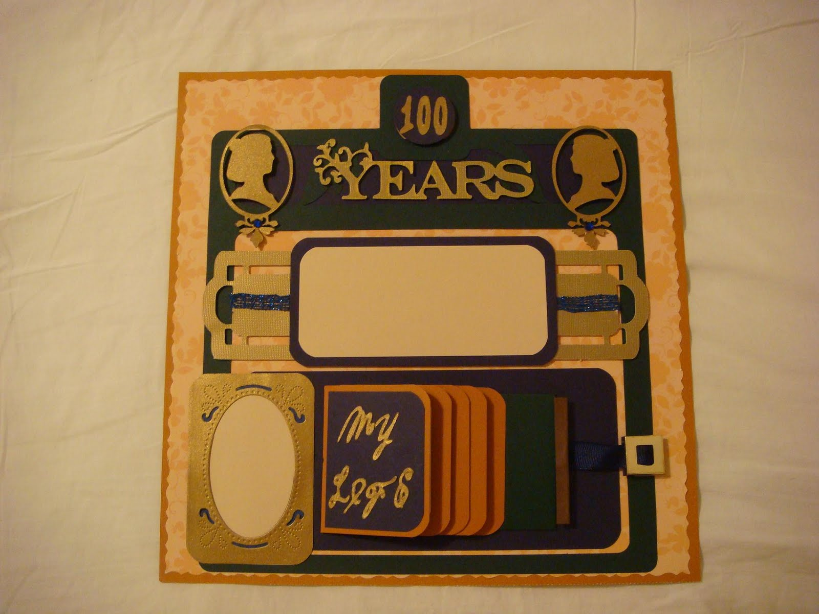 Scrapbook ideas using cricut - Three Birthday Layouts Using The Cricut Expression