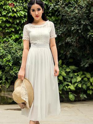 Vestido de gasa Bohemia. Vestidos y tops para el verano. . #moda #fashion #blogger #coruña