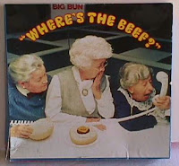 Wendy's Where's the beef ad campaign 1980s old ladies angry about small hamburgers