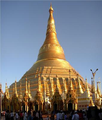 (Myanmar) – Yangon (Rangoon) - Shwedagon Pagoda