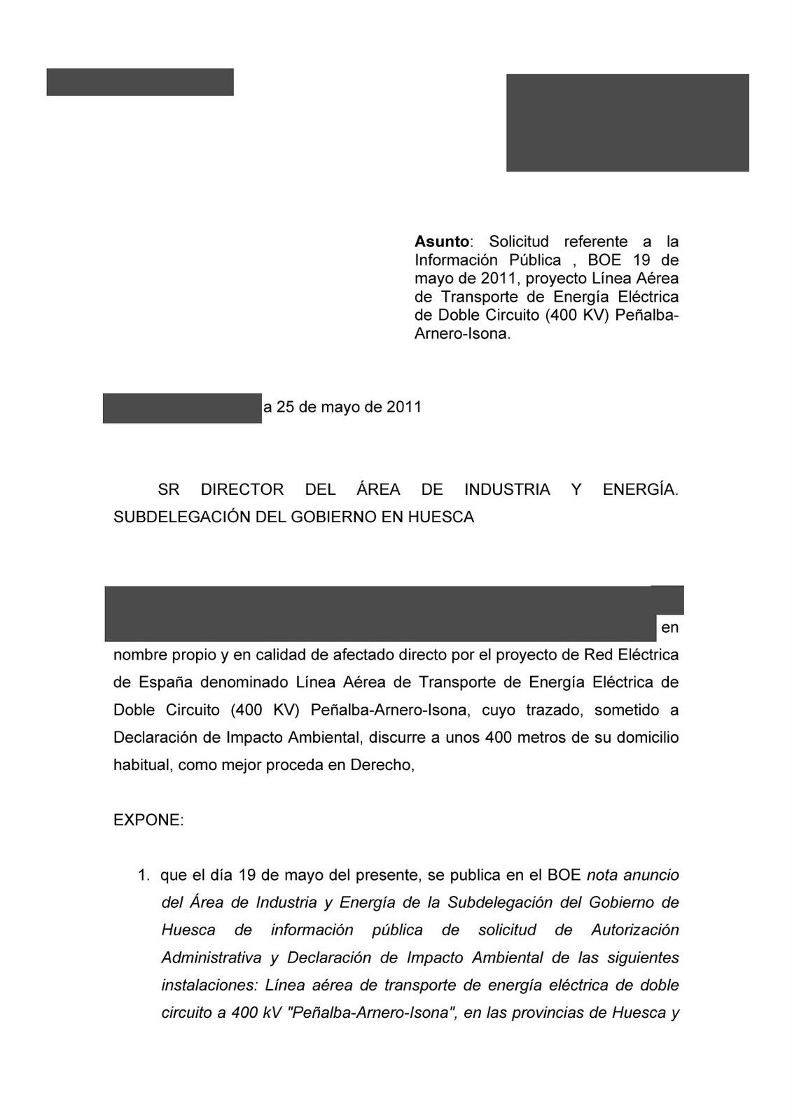 ALTA TENSIÓN / ALTA TENSIÓ: 22/05/11 - 29/05/11
