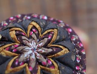 звезда новогодняя текстиль