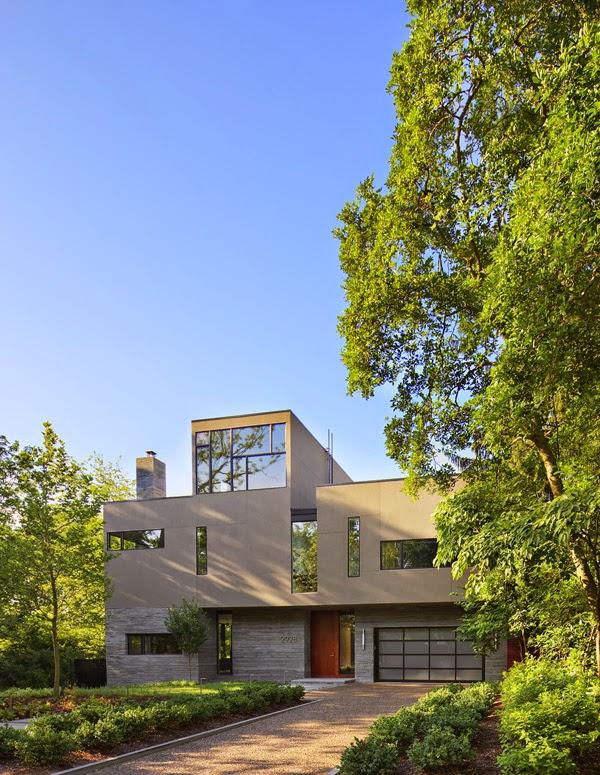 Casas minimalistas y modernas casa estilo minimalista en for Casas modernas en washington
