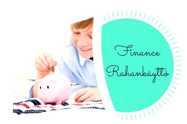 Finance / Rahankäyttö