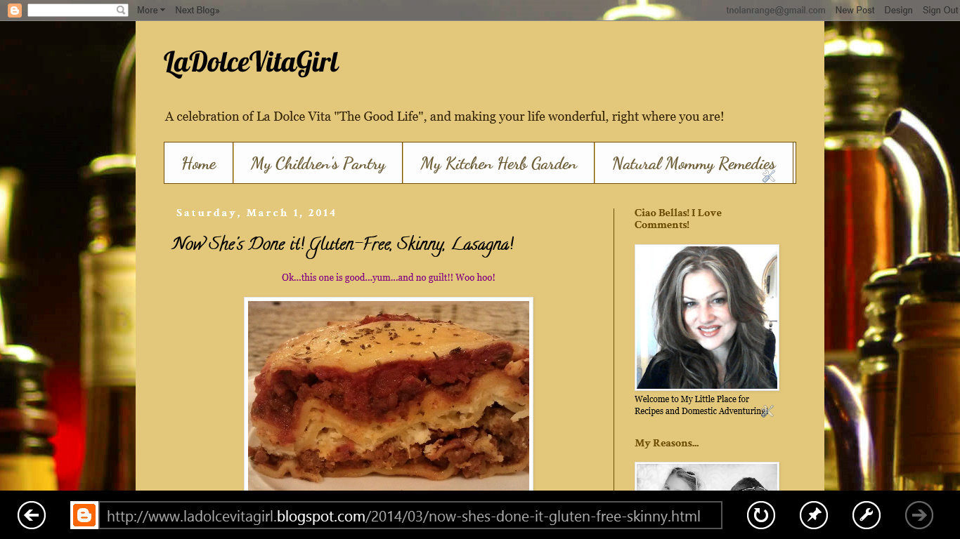 My LaDolceVitaGirl Blog