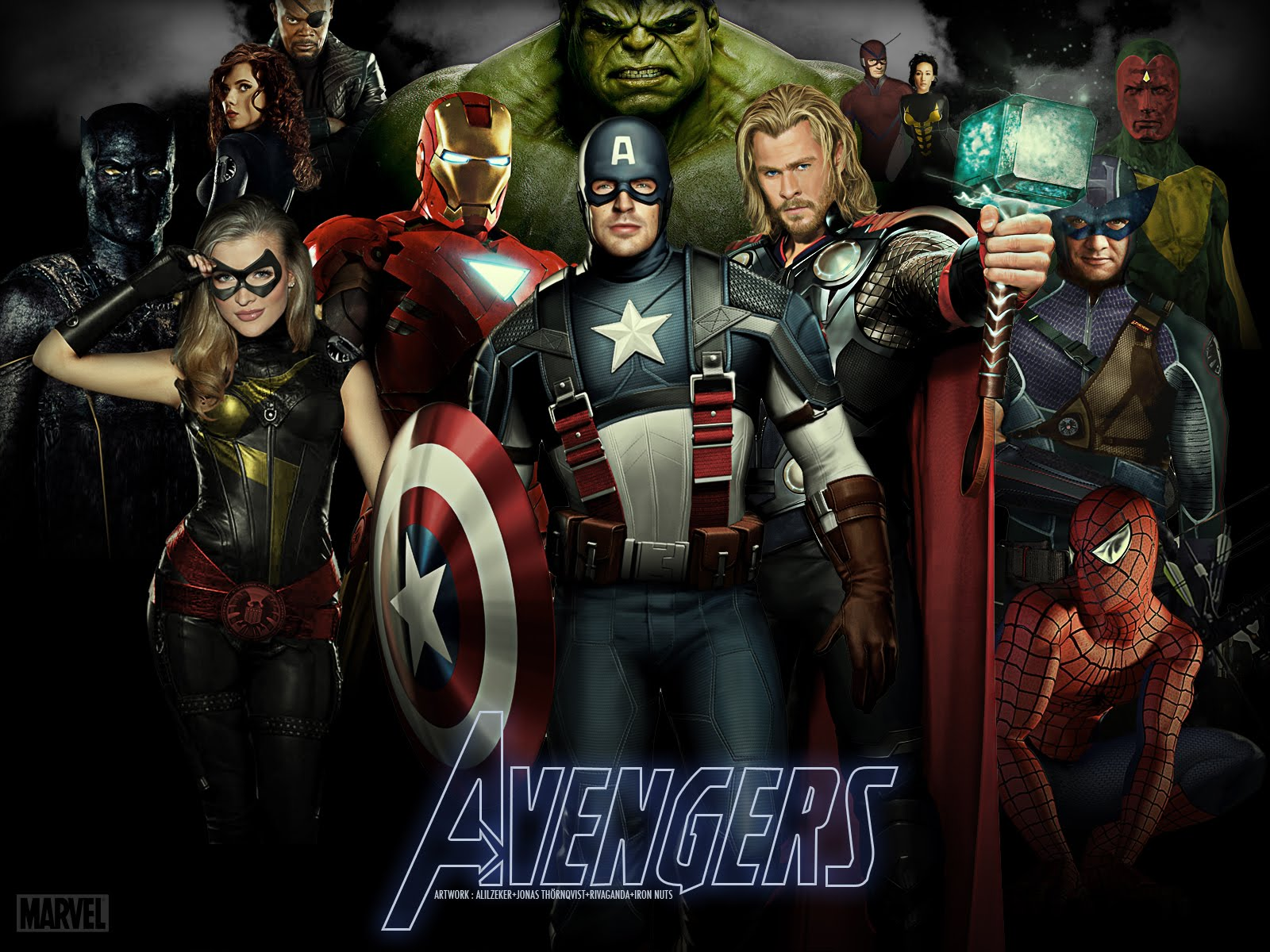 http://4.bp.blogspot.com/-xFC5DfM9d2g/TcXIkLCAWtI/AAAAAAAAAVo/bbOxAVwi2wA/s1600/1301228683-Avengers-Wallpaper-v2-by-ALilZeker-Featuring-Marvels-Captain-America-Thor-Iron-Man-Spider-Man-Black-Widow-Nick-Fury-More.jpg