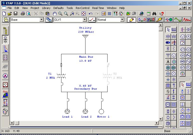 ETAP TUTORIALS: CREATING A ONE-LINE DIAGRAM | Power Quality In ...