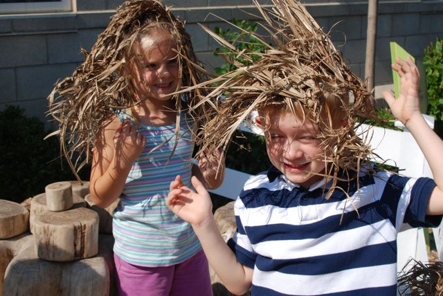 Woven grass hats? Maybe for a couple of sillies!