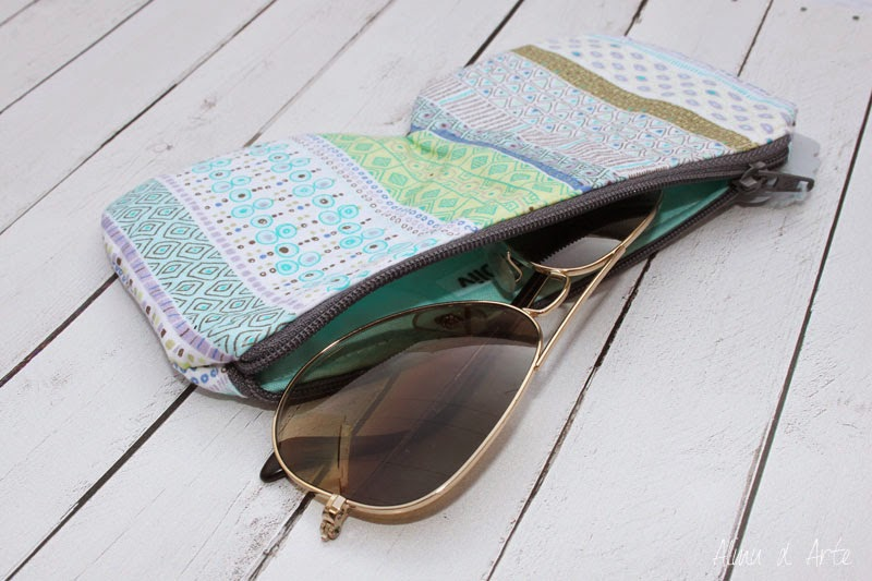 Funda de gafas handmade
