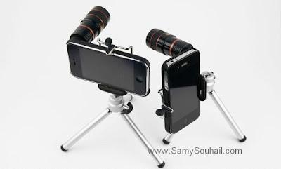 عدسة Telephoto .. قطعة صغيرة تحول الـ iPhone إلى كاميرا محترفة