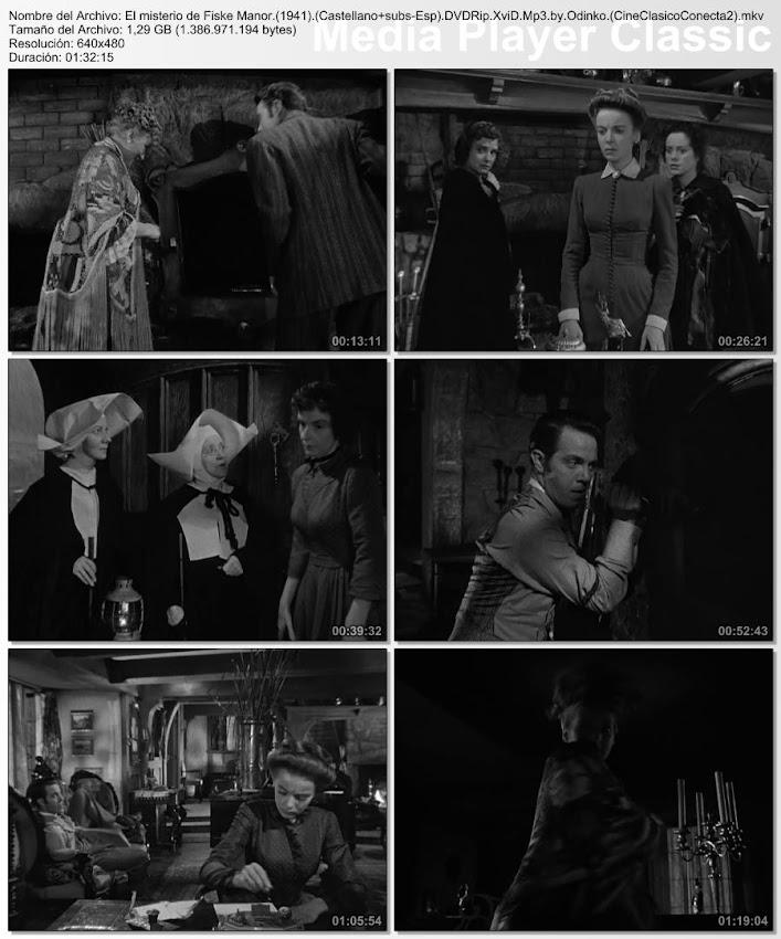 Imágenes de la película: El misterio de Fiske Manor (1941) [HD]