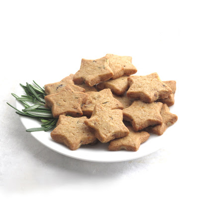 Gourmet cookie recipe: toasted rosemary orange walnut