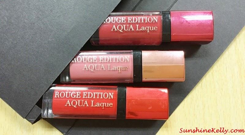 Review, Bourjois Rouge Edition Aqua Laque, Beauty Review, Bourjois Malaysia, Bourjois, Rouge Edition Aqua Laque