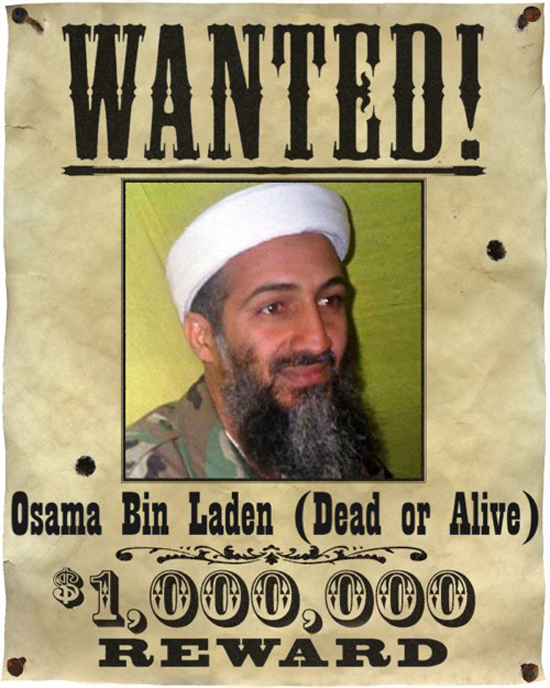 bin laden head. osama in laden head. osama