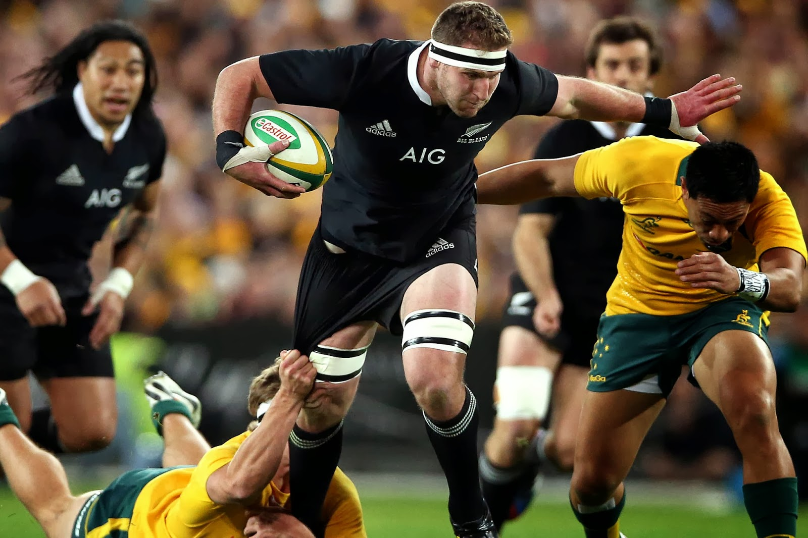 Kieran Read, New Zealand, All Blacks, Number 8, rugby, Australia, Wallabies,
