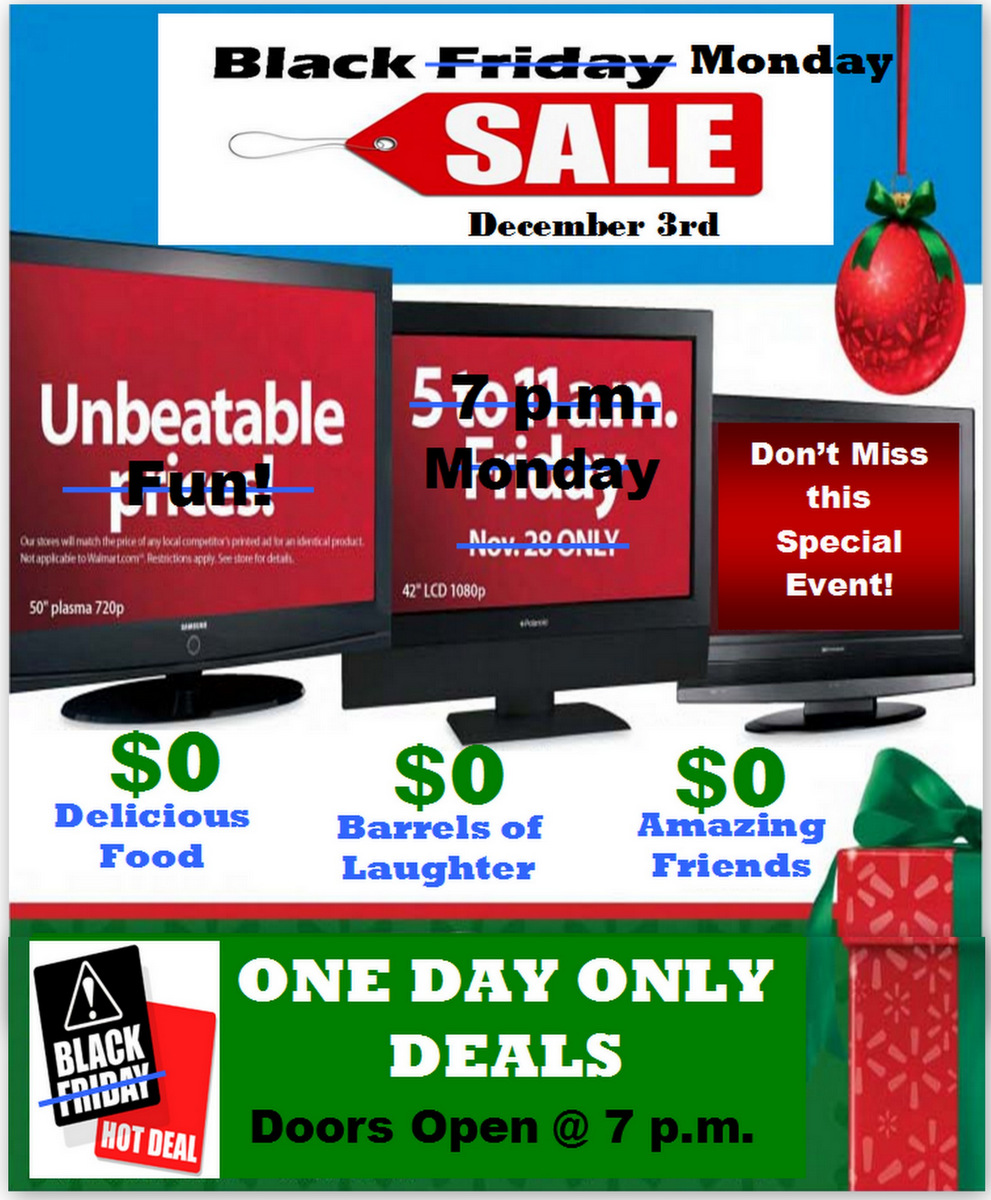 Invite and Delight: Black Friday Party