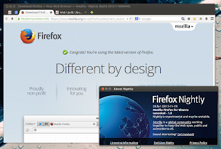 Firefox Nightly Aurora Linux