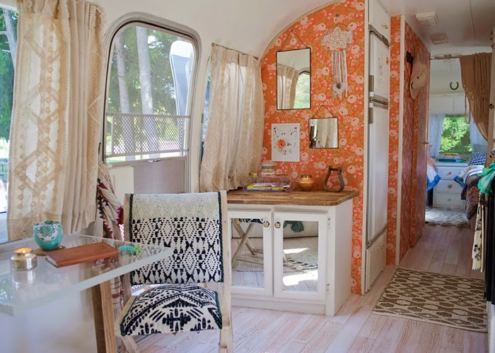 airstream, anthropologie, shabby chic