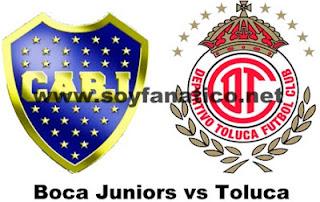 Boca Jr. vs Toluca - Copa Libertadores 2013