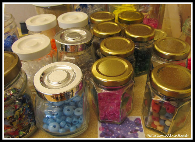 "photo of: ""Reggio"" Classroom Art Supplies via PreK+K Sharing"