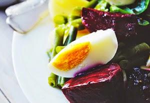Beets + Egg salad