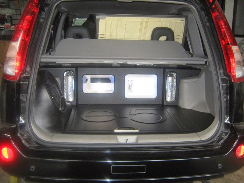 Modifikasi Audio Mobil Nissan X-Trail