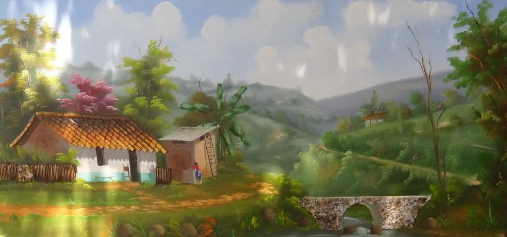 Im genes arte pinturas pinturas paisajes comerciales al leo - Cuadros en casa ...
